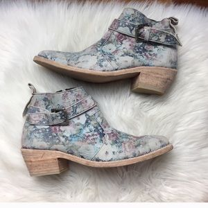 Farylrobin Boots x Free People Floral Boots